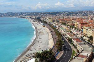 France Nice beach